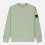 Мужская толстовка Stone Island Crew Neck Brushed Cotton Fleece Green фото- 0