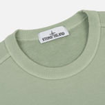 Мужская толстовка Stone Island Crew Neck Brushed Cotton Fleece Green фото- 1