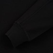 Мужская толстовка Stone Island Crew Neck Heavy Cotton Garment Dyed Black фото- 3