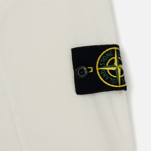 Мужская толстовка Stone Island Crew Neck Heavy Cotton Garment Dyed Ivory фото- 2