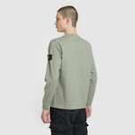 Мужская толстовка Stone Island Crew Neck Heavy Cotton Jersey Sage Green фото- 3