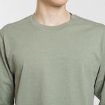 Мужская толстовка Stone Island Crew Neck Heavy Cotton Jersey Sage Green фото- 2