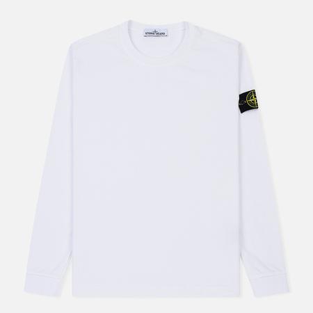 Мужская толстовка Stone Island Crew Neck Heavy Cotton Jersey White