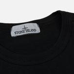Мужская толстовка Stone Island Crew Neck Old Effect Black фото- 1