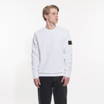 Мужская толстовка Stone Island Crew Neck Old Effect White фото- 4