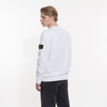 Мужская толстовка Stone Island Crew Neck Old Effect White фото- 5