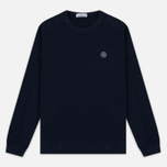 Мужская толстовка Stone Island Crew Neck Sweat Navy Blue фото- 0