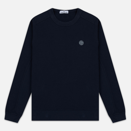 Мужская толстовка Stone Island Crew Neck Sweat Navy Blue