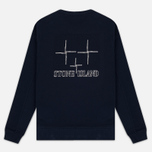 Мужская толстовка Stone Island Crew Neck Sweat Navy Blue фото- 4