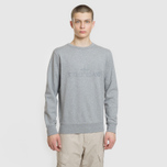 Мужская толстовка Stone Island Embossed Logo Applied Chest Dust Grey фото- 2