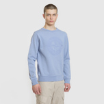 Мужская толстовка Stone Island Embossed Logo Applied Chest Lavender фото- 2