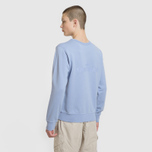Мужская толстовка Stone Island Embossed Logo Applied Chest Lavender фото- 4