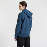 Мужская толстовка Stone Island Full Zip Hooded Marine Blue фото- 2