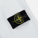Мужская толстовка Stone Island Garment Dyed Brushed Jersey White фото- 3