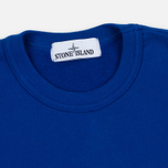 Мужская толстовка Stone Island Garment Dyed Crew Neck Blue фото- 1