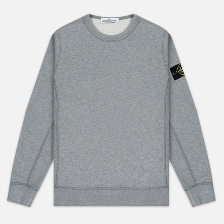 Мужская толстовка Stone Island Garment Dyed Crew Neck Light Grey