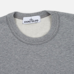 Мужская толстовка Stone Island Garment Dyed Crew Neck Light Grey фото- 1