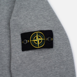Мужская толстовка Stone Island Garment Dyed Crew Neck Light Grey фото- 2