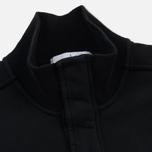 Мужская толстовка Stone Island Garment Dyed Half Zip Black фото- 2