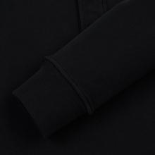 Мужская толстовка Stone Island Garment Dyed Half Zip Black фото- 3