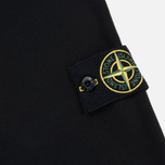Мужская толстовка Stone Island Garment Dyed Half Zip Black фото- 4