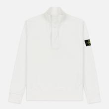 Мужская толстовка Stone Island Garment Dyed Half Zip Natural White фото- 0