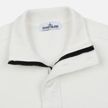 Мужская толстовка Stone Island Garment Dyed Half Zip Natural White фото- 2