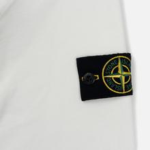 Мужская толстовка Stone Island Garment Dyed Half Zip Natural White фото- 3