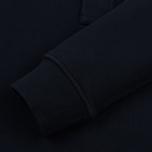 Мужская толстовка Stone Island Garment Dyed Half Zip Navy Blue фото- 3