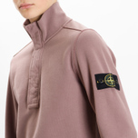 Мужская толстовка Stone Island Garment Dyed Half Zip White фото- 7