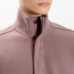 Мужская толстовка Stone Island Garment Dyed Half Zip White фото- 8