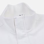 Мужская толстовка Stone Island Garment Dyed Half Zip White фото- 2
