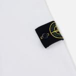 Мужская толстовка Stone Island Garment Dyed Half Zip White фото- 4