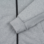 Мужская толстовка Stone Island Garment Dyed Hooded Light Grey фото- 2