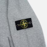 Мужская толстовка Stone Island Garment Dyed Hooded Light Grey фото- 3