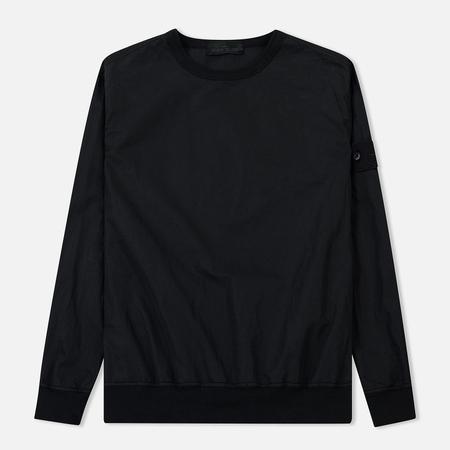 Мужская толстовка Stone Island Ghost Piece Cotton/Nylon Black