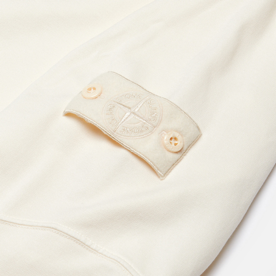 Мужская толстовка Stone Island Ghost Piece Crew Neck Natural White