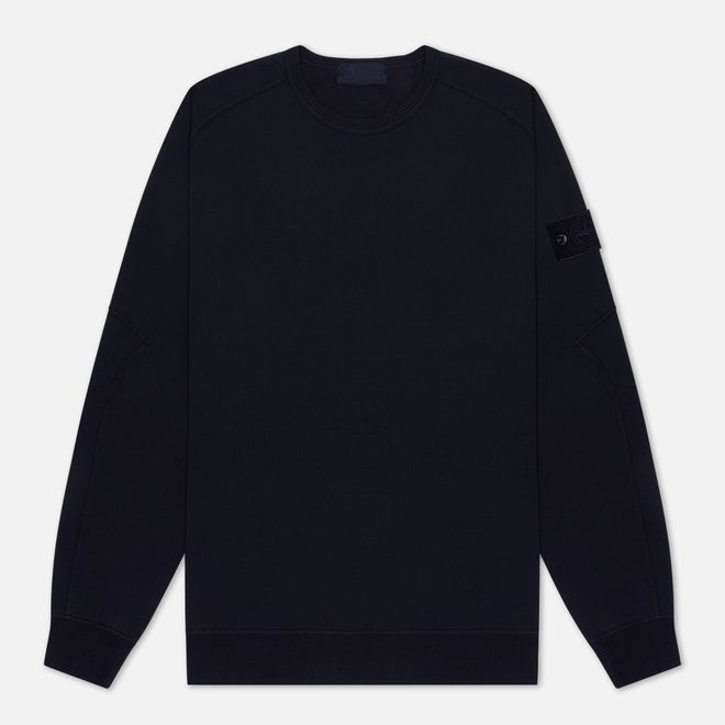 Мужская толстовка Stone Island Ghost Piece Crew Neck Navy Blue
