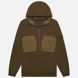 Мужская толстовка Stone Island Ghost Piece Hoodie Military Green