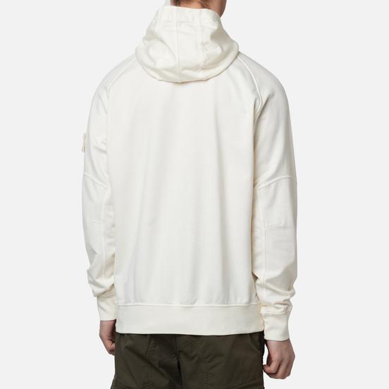 Мужская толстовка Stone Island Ghost Piece Hoodie Natural White