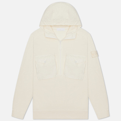 Мужская толстовка Stone Island Ghost Piece Hoodie Natural White