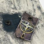 Мужская толстовка Stone Island Hand Corrosion Black фото- 4