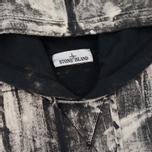 Мужская толстовка Stone Island Hand Corrosion Hooded Black фото- 1