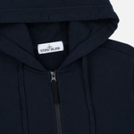 Мужская толстовка Stone Island Heavyweight Zip Hoody Dark Blue фото- 1