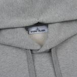 Мужская толстовка Stone Island Hooded Brushed Cotton Fleece Dust Grey фото- 1