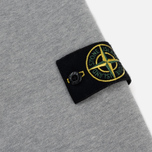 Мужская толстовка Stone Island Hooded Brushed Cotton Fleece Dust Grey фото- 4