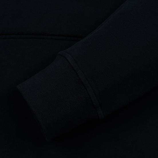 Мужская толстовка Stone Island Hooded Brushed Cotton Fleece Navy Blue