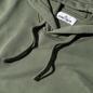Мужская толстовка Stone Island Hooded Cotton Fleece Pouch Pocket Olive Green фото - 1