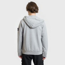 Мужская толстовка Stone Island Hooded Full Zip Dust Melange фото- 3