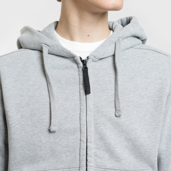 Мужская толстовка Stone Island Hooded Full Zip Dust Melange